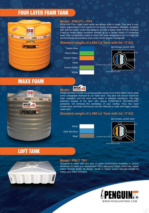 Plastic Water Storage Tanks E-Brochure   Penguin Water Tanks