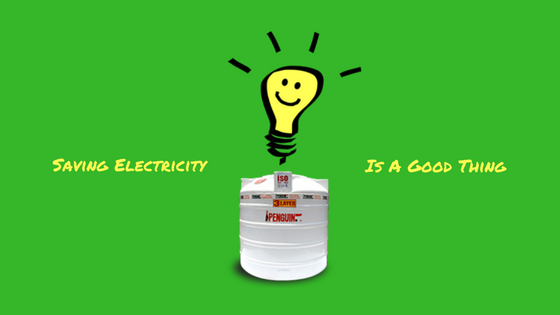 Saving Electricity Penguin Tank